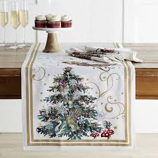 twas the before table runner williams sonoma
