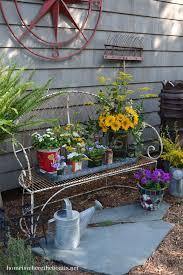 Backyard Decor Ideas 264 Best Rustic Garden Decor Images On Pinterest Garden Ideas