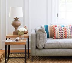 Side Table In Living Room Four Ways To Accessorize With Side Tables Chatelaine