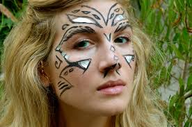 Make Your Own Halloween Makeup Mr Kate Easy Mythical Halloween Make Up