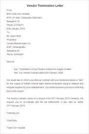 termination letter samples template jennywashere com