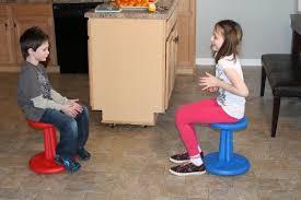 kore design kid wobble stool kidsteals com