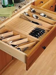 kitchen drawer organizer ideas knife block drawer insert plan search kitchen wants