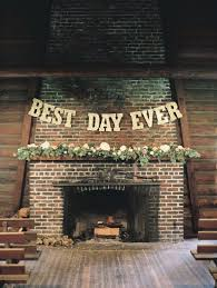 fireplace decor ideas 22 cozy fireplace décor ideas for your big day weddingomania