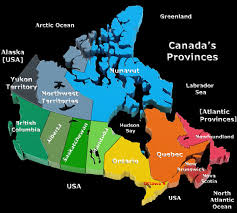 map of canada by province canada provinces map a clear and colorful carte de provinces de