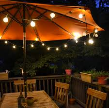 innovative outside lights for patio patio globe string lights