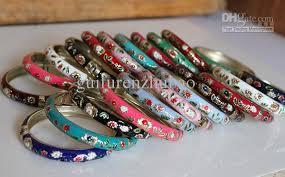 free size bracelet images Thin cloisonne bangle bracelet unique cheap chinese colored sale jpg