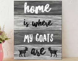 Goat Home Decor Goat Home Decor Etsy