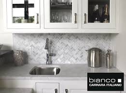 Carrara Tile The Builder Depot Blog - Carrara backsplash
