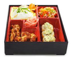 cuisine japonaise santé cuisine japonaise déjeuner de bento image stock image du