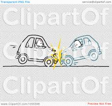 wrecked car clipart royalty free vector clip art illustration of two stick men in a