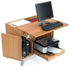 Piranha Corner Computer Desk Small Computer Desk With Shelf For Printer Compact Shelves