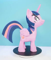 my little pony 3d cake cake by howtocookthat cakesdecor