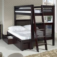 harriet bee oakwood twin over full bunk bed with storage u0026 reviews