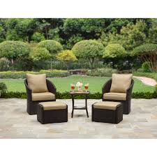 Better Homes And Gardens Wicker Patio Furniture - better homes and gardens cascade falls 5 piece wicker leisure set