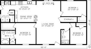 Home Floor Plans 1500 Square Feet 1500 Square Foot Bungalow House Plans Bungalow Santa Monica