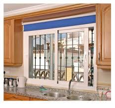 Kitchen Bay Window Curtain Ideas Yellow Kitchen Curtains And Double Window Treatments Ideas 4736
