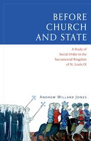 before church and state a study of social order in the