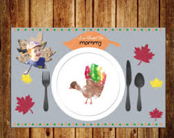 turkey placemat etsy