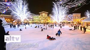 leavenworth light festival 2017 altv presents lighting up leavenworth christmas lighting ceremony
