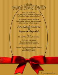 Wedding Invitations India Christian Wedding Invitation Wording Samples Wordings And Messages