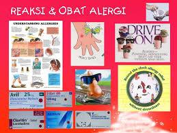 Obat Xyzal berbagi bersama obat alergi