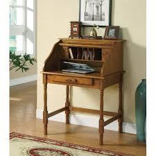 palmetto small roll top secretary desk coaster furniture roll top
