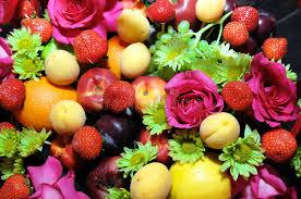 flowers fruit mix fruits background stock photo image of garden beauty 62802790
