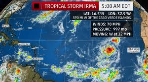 St Croix Map National Hurricane Center Says That Tropical Storm Irma