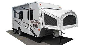 ultra light hybrid travel trailers 2013 spree escape series m 16rbt specs and standard equipment