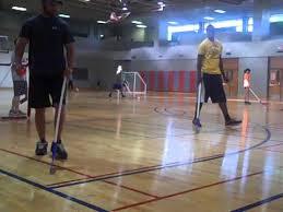 how to teach floor hockey u0026 broomball day 2 youtube