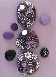 hand painted rocks painted stones mandala design rock art