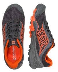 light trail running shoes merrell all out terra light trail running dark beige men s shoes
