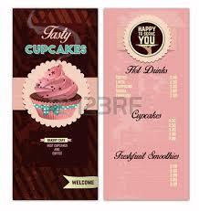 retro bakery menu design template royalty free cliparts vectors