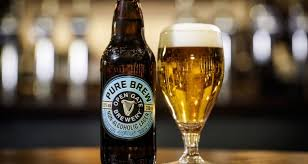 like light beers crossword guinness goes non alcoholic with pure brew lager
