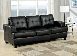 Black Sofa Bed Black Leather Sofa Bed