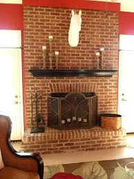 red brick fireplace hearth ideas interior paint image of modern