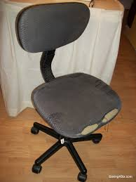 My Office Furniture by Recovering My Office Chair