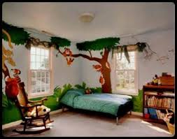 attractive and cheerful wall color paint ideas for kids rooms