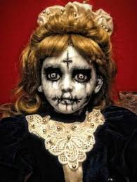 Halloween Costumes Creepy Doll Creepy Doll Beautiful Gorgeous Makeup Dolls