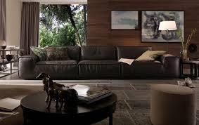 Chateau D Ax Leather Sofa Home