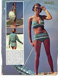 knitting iris vintage bathingsuit patterns day 16