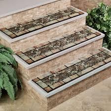 patio stone stair treads
