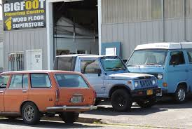 suzuki jimny sj410 insomniac garage side street find datsun 510 wagon and suzuki