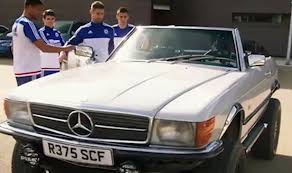 mercedes tour chelsea check out modified mercedes on the grand tour