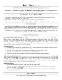 Different Types Of Resume Accounting Clerk Resume Objective Free Sample Cv Business