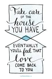 love the home you have the inspired room