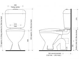 size of toilet base link toilet suite s trap with seat white 4 from reece