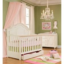Baby Bed Net Canopy by Classic Enchantment Crib With Pink Princess Hanging Curtain Bed