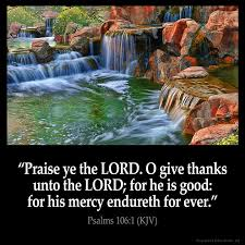 psalms 106 1 psalms bible verse pictures and king bible